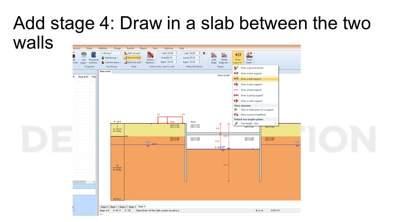Add stage 4: Draw in a slab between the two walls