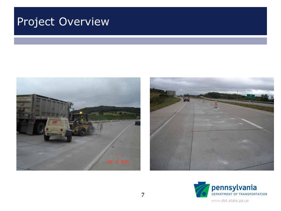 www.dot.state.pa.us Project Overview 7