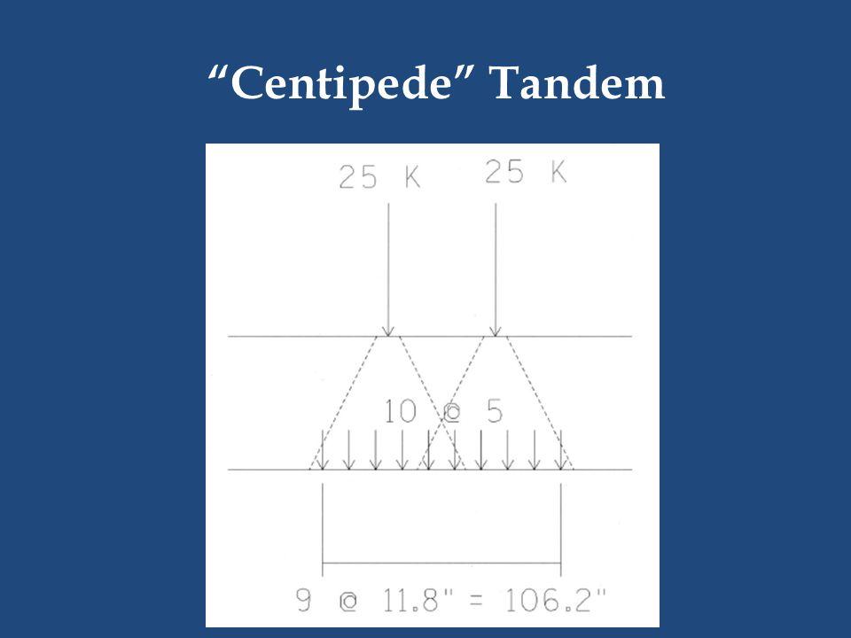 Centipede Tandem
