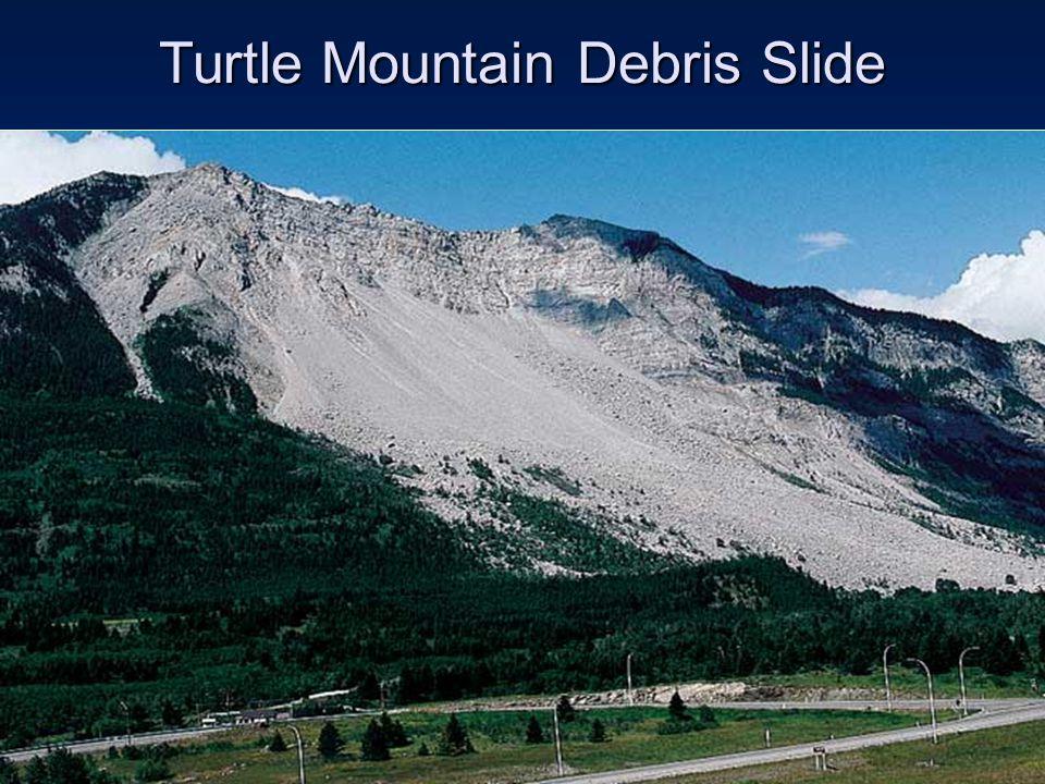 Turtle Mountain Debris Slide