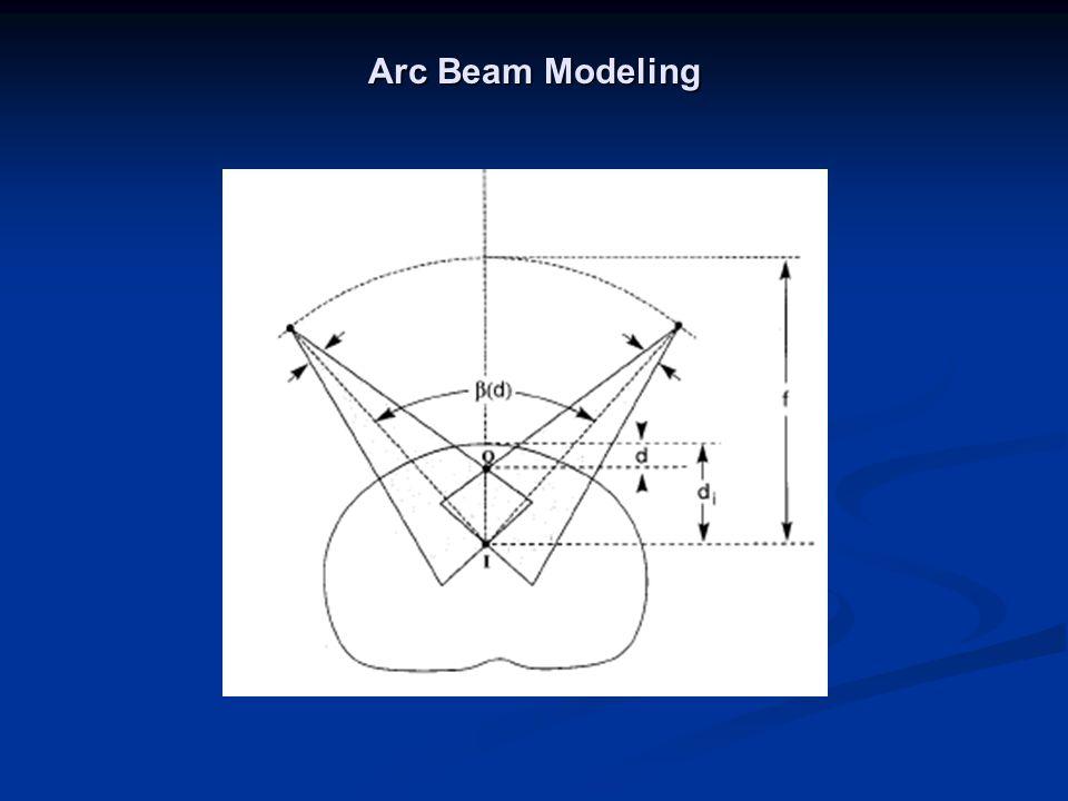 Arc Beam Modeling