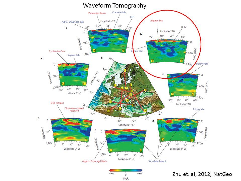 Zhu et. al, 2012, NatGeo Waveform Tomography