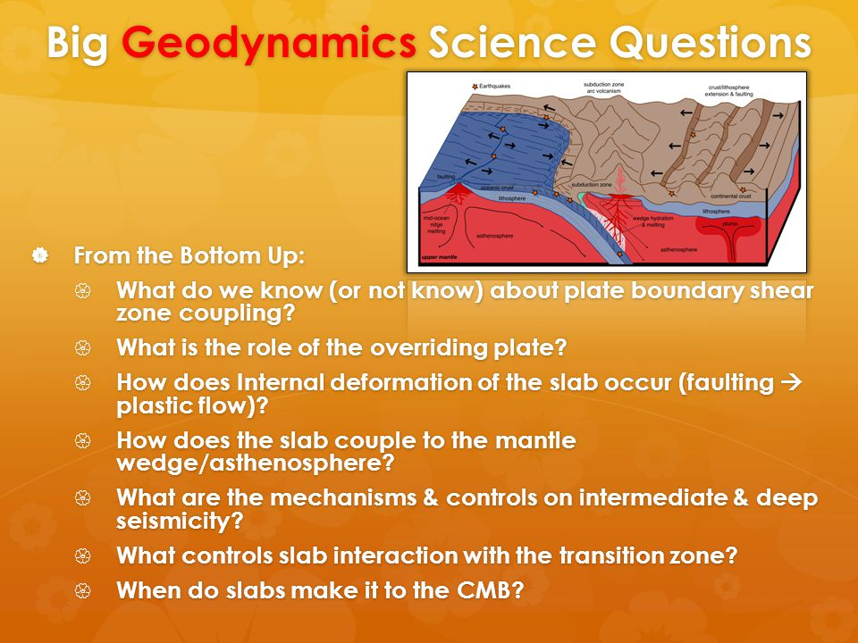 Key Issues for SZO  From the Bottom Up:  What do we know (or not know) about plate boundary shear zone coupling.
