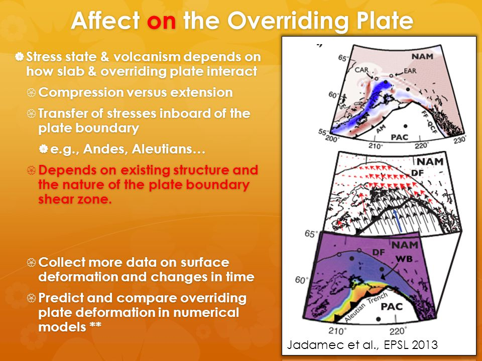Plate Boundary Shear Zone  In dynamical models, this is a low viscosity shear zone or channel.