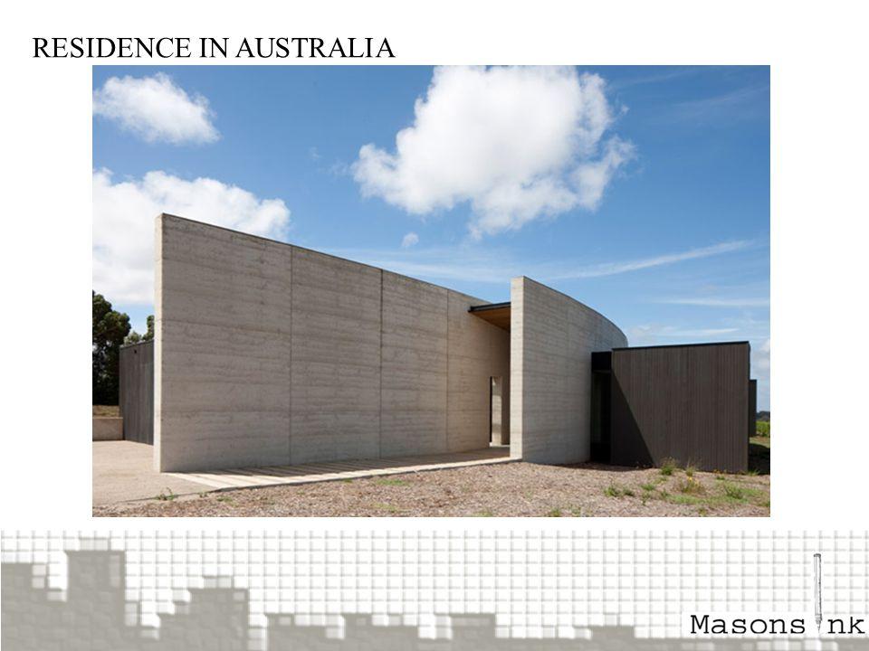 RESIDENCE IN AUSTRALIA