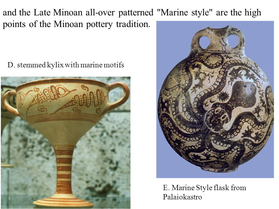 and the Late Minoan all-over patterned