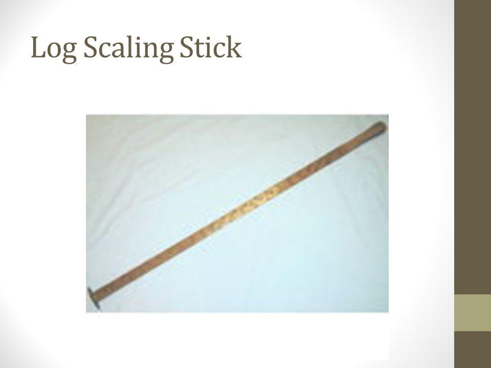 Log Scaling Stick