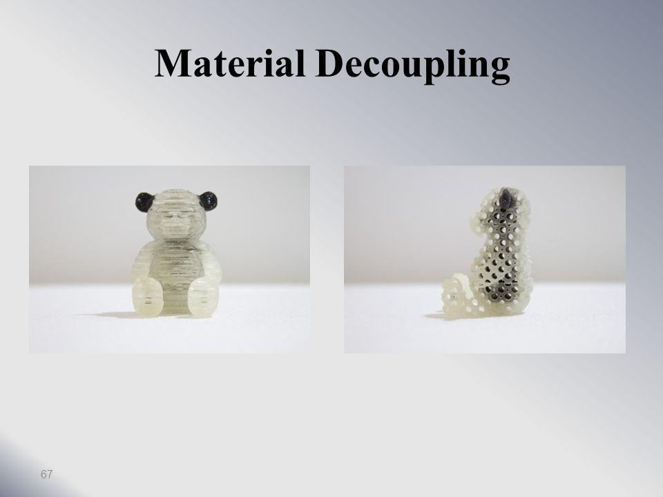 Material Decoupling 66