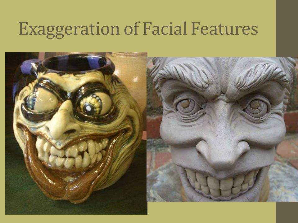 Exaggeration of Facial Features