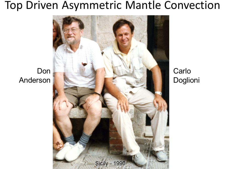 Sicily - 1990 Top Driven Asymmetric Mantle Convection Don Anderson Carlo Doglioni