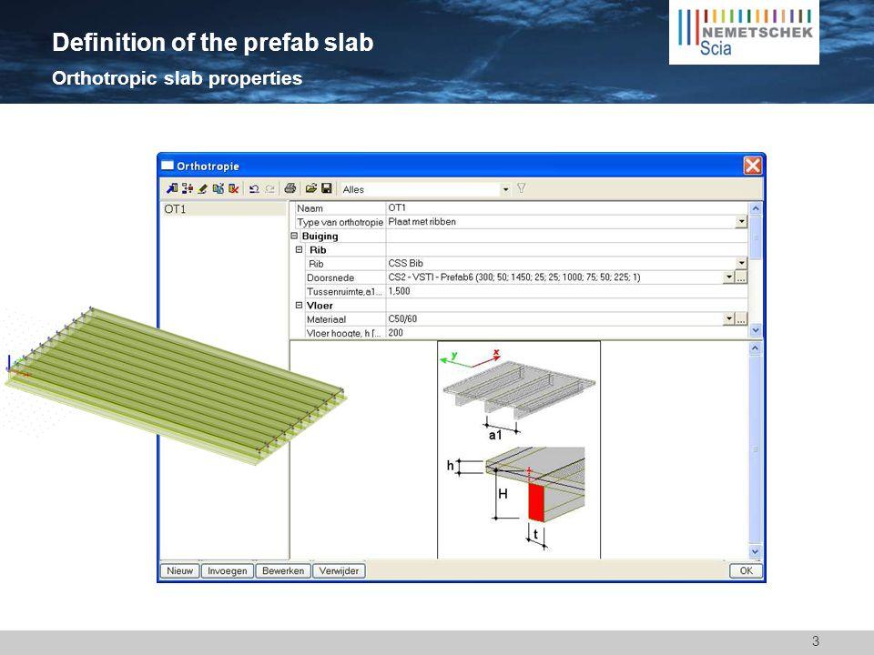 3 Orthotropic slab properties