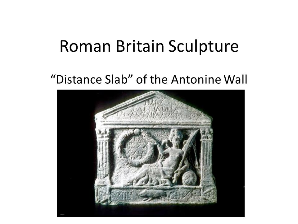 Roman Britain Sculpture Distance Slab of the Antonine Wall