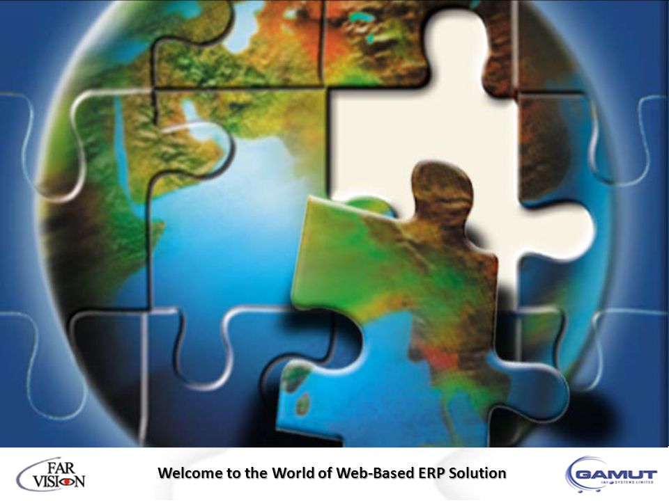 Welcome to the World of Web-Based ERP Solution