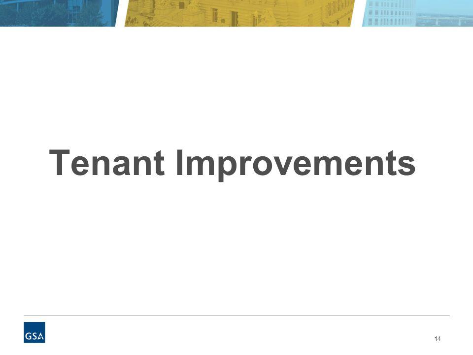 14 Tenant Improvements
