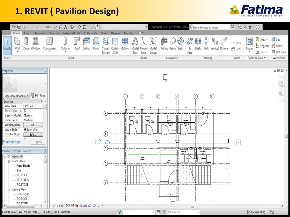 1. REVIT ( Pavilion Design) 23