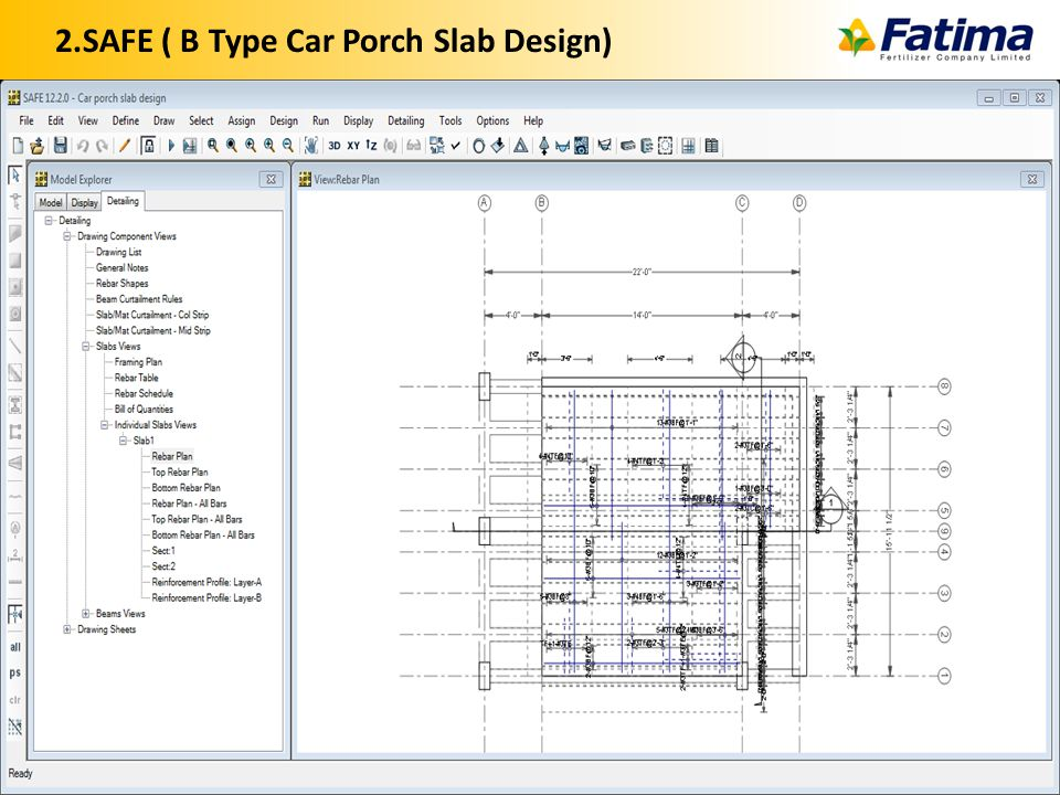 2.SAFE ( B Type Car Porch Slab Design) 30