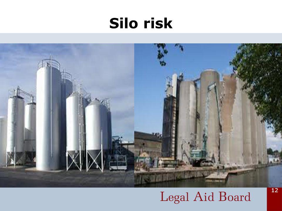 12 Silo risk