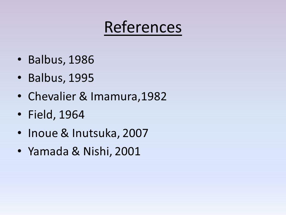References Balbus, 1986 Balbus, 1995 Chevalier & Imamura,1982 Field, 1964 Inoue & Inutsuka, 2007 Yamada & Nishi, 2001