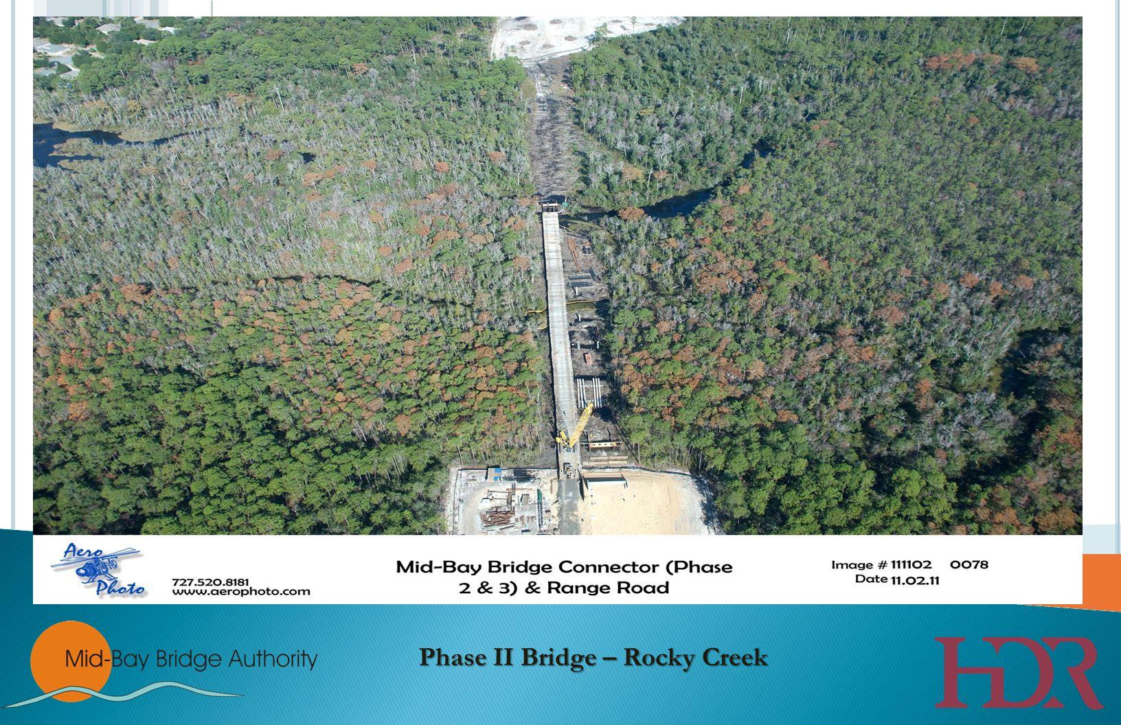 Turkey Creek Bridge Turkey Creek Bridge – Milestones