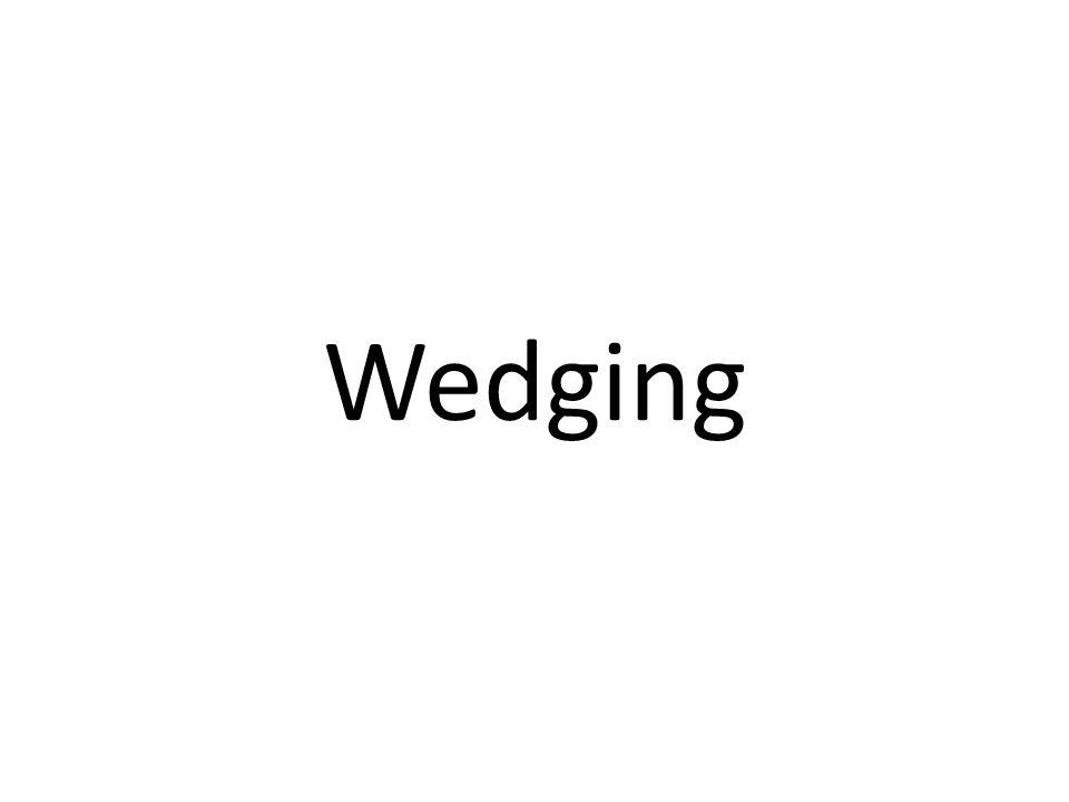 Wedging