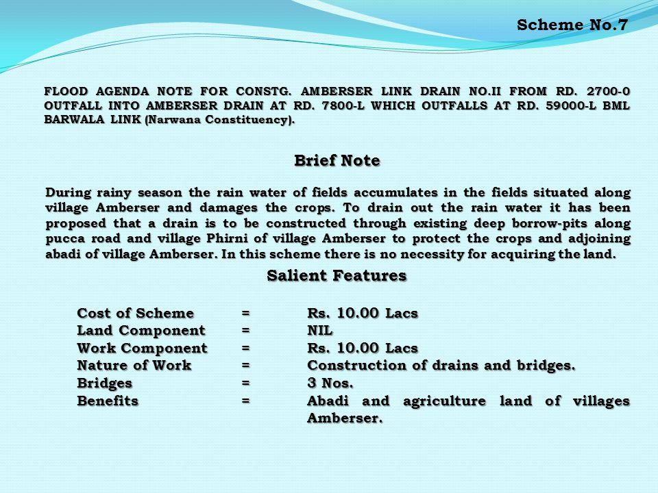 Flood agenda for procurement of 10 Nos., 25 HP & 2 Nos.