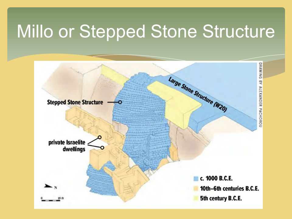Millo or Stepped Stone Structure