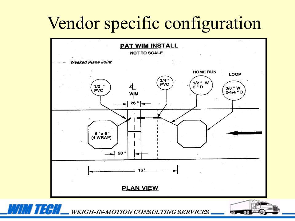 Vendor specific configuration