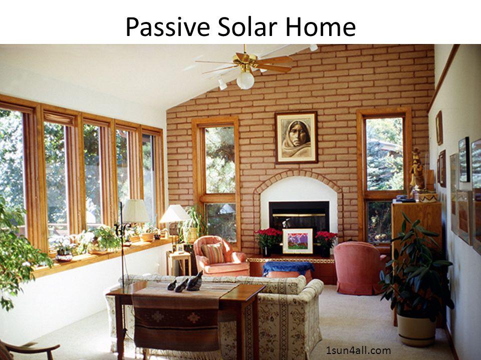 Passive Solar Home 1sun4all.com