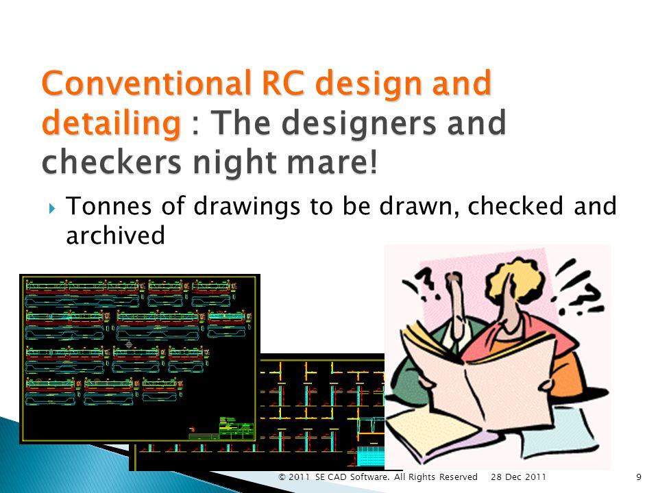B E A M Analysis : Arbitrary Shape Design : Rectangular Demo 30 28 Dec 2011 © 2011 SE CAD Software.