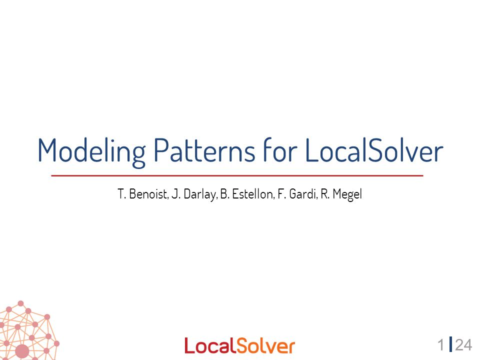 2224 Modeling Pattern #6 Use dominance properties