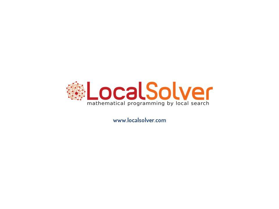 www.localsolver.com 1/18