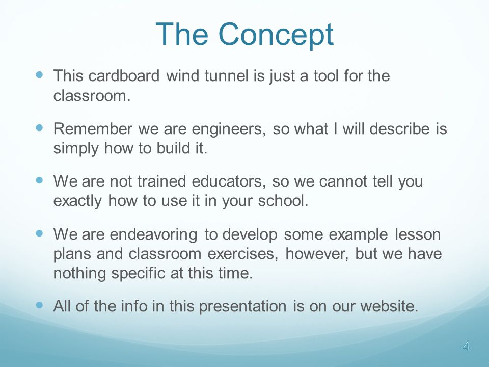 Curriculum Ideas Now you have a wind tunnel with a test balance.