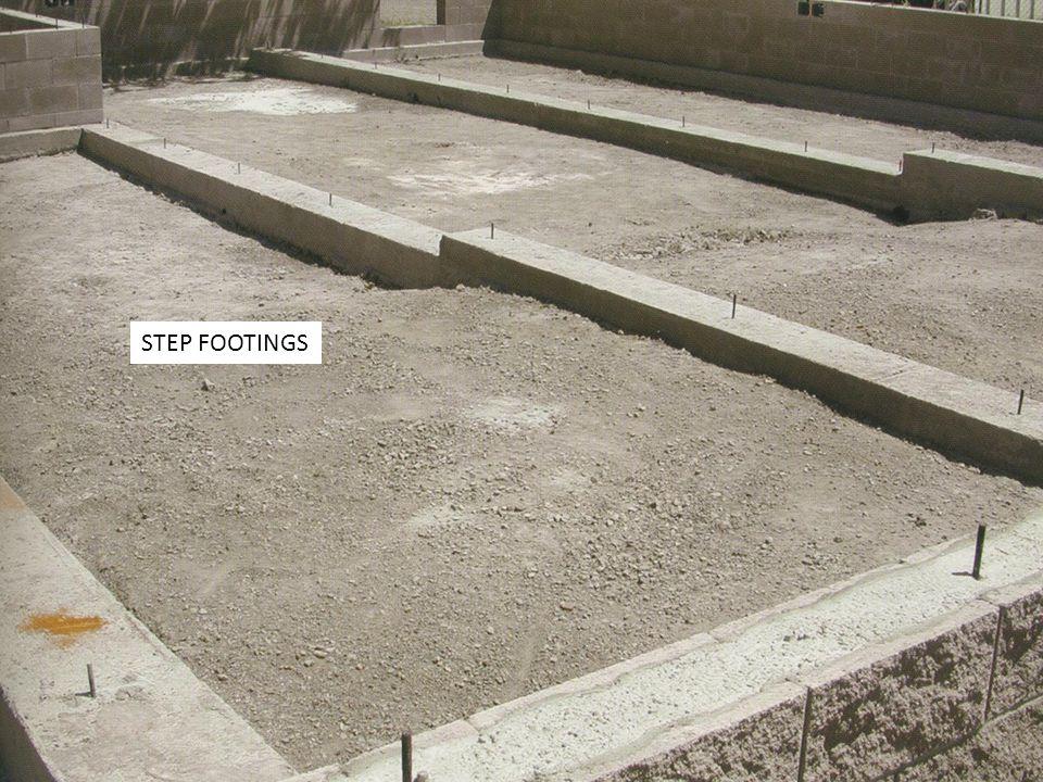 STEP FOOTINGS