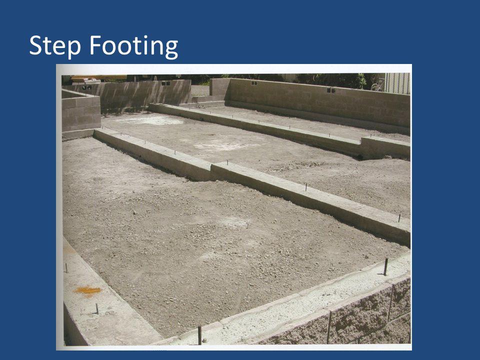 Step Footing