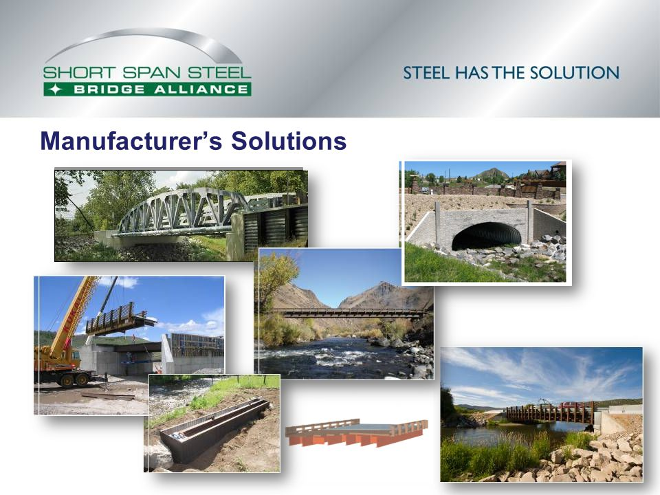 Manufacturer's Solutions