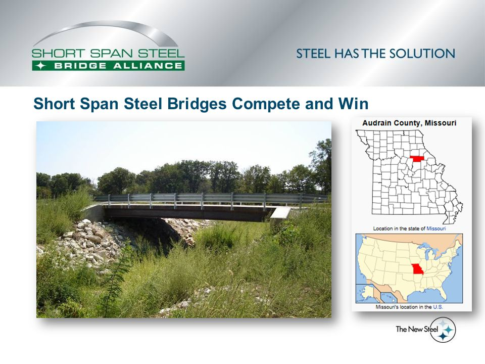 Short Span Steel Bridges Compete and Win