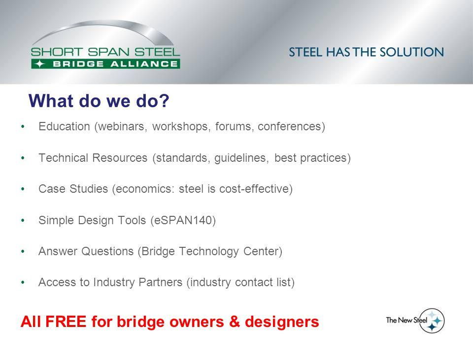 Case Study Bridges: Side-by-Side Comparison Audrain County, MO Bridge 411 Built 2012 Steel 4 Girders 47.5 ft.