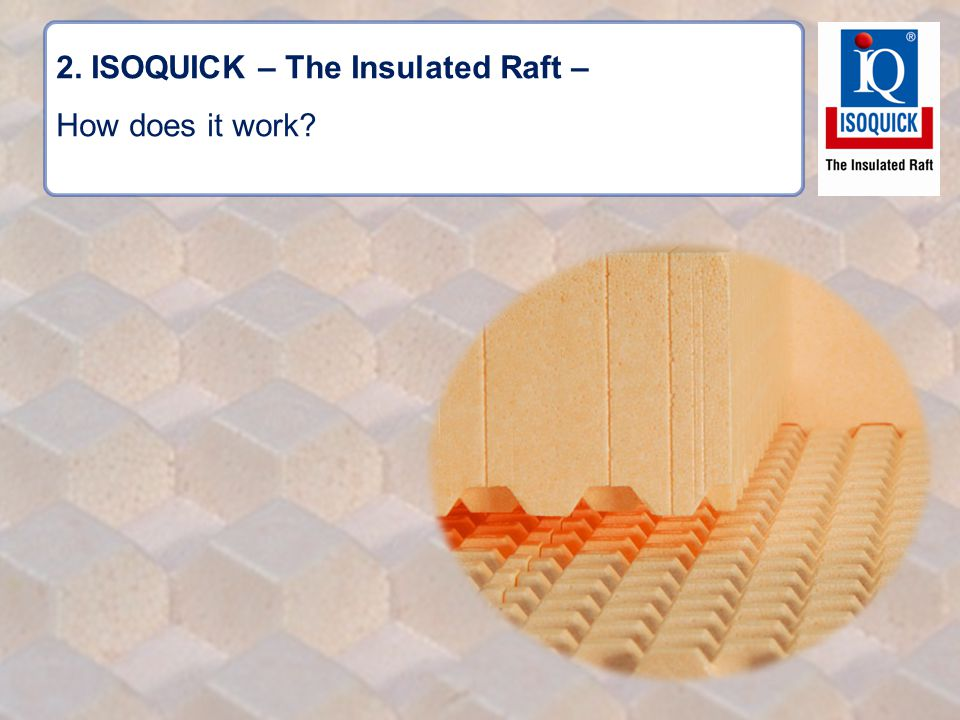 2. ISOQUICK – The Insulated Raft – How does it work?