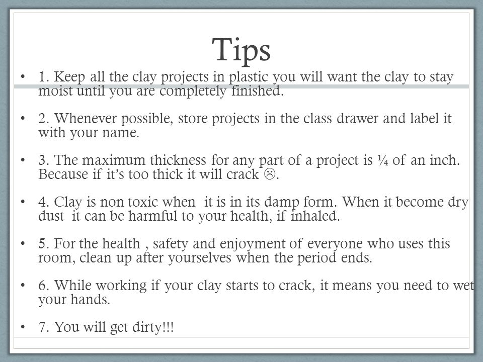 Tips 1.