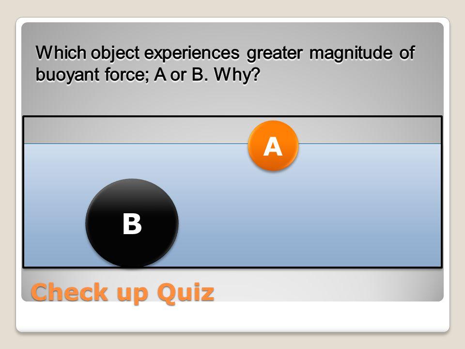 Check up Quiz A A B B