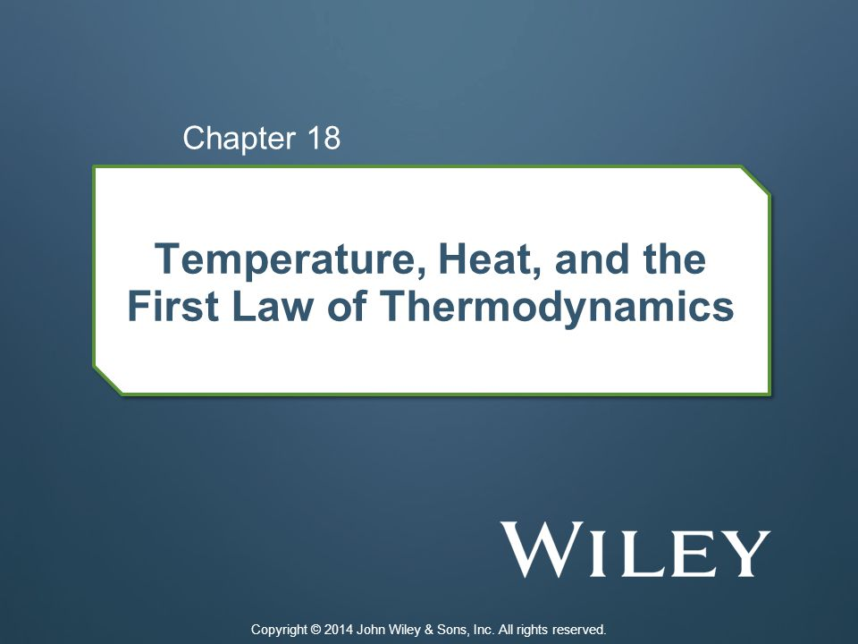 18-1 Temperature 18.01 Identify the lowest temperature as 0 on the Kelvin scale (absolute zero).