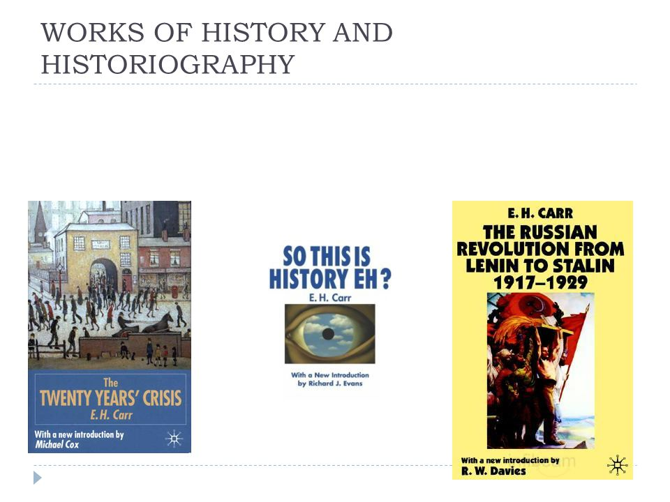 WORKS OF HISTORY AND HISTORIOGRAPHY