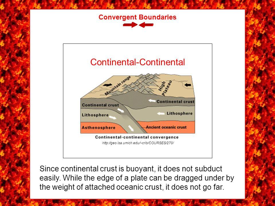 Convergent Boundaries http://geo.lsa.umich.edu/~crlb/COURSES/270/ Oceanic-Oceanic