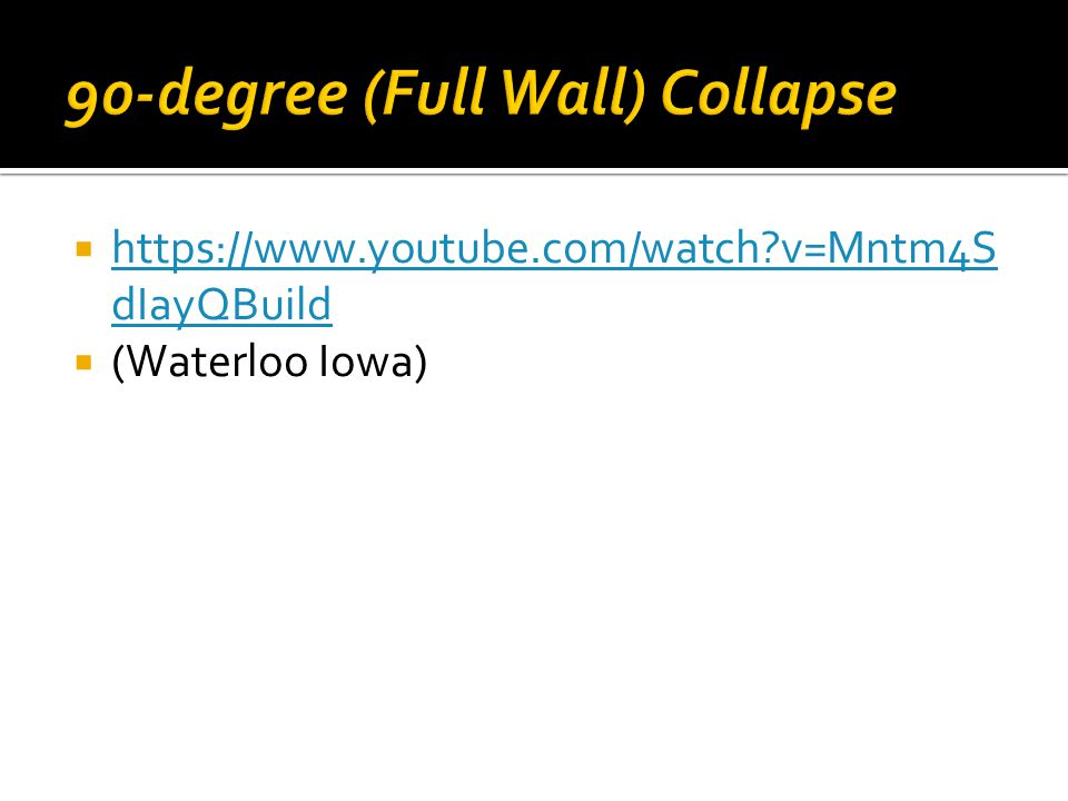  https://www.youtube.com/watch v=Mntm4S dIayQBuild https://www.youtube.com/watch v=Mntm4S dIayQBuild  (Waterloo Iowa)