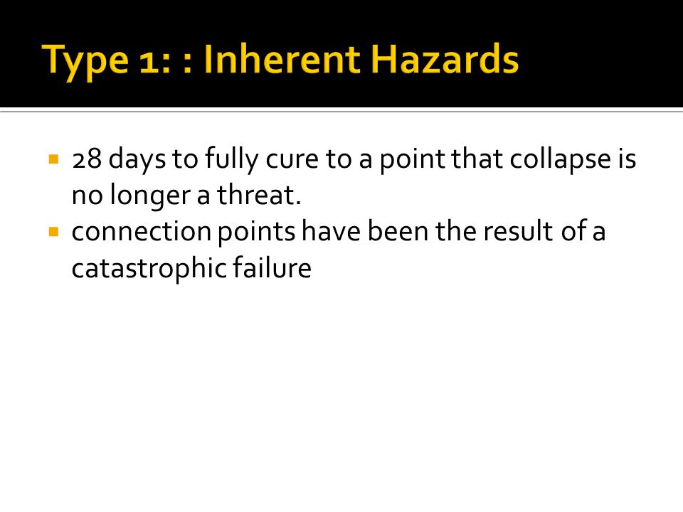  28 days to fully cure to a point that collapse is no longer a threat.