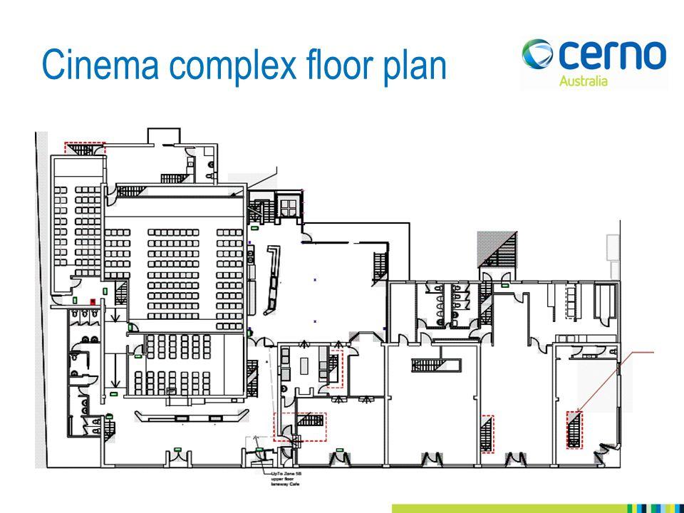 Cinema complex floor plan 102