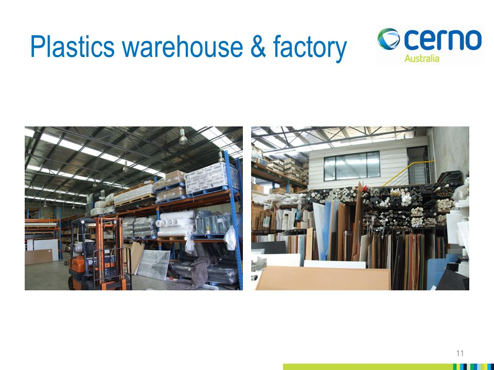 Plastics warehouse & factory 11