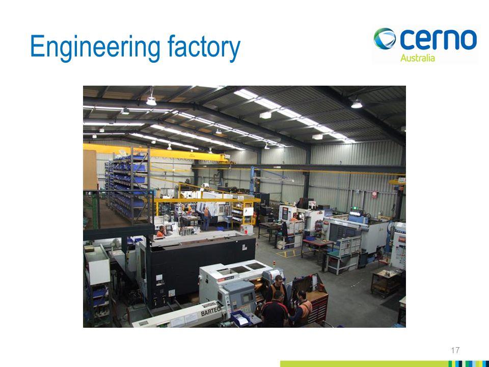 Engineering factory 17