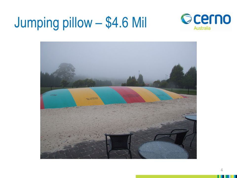 Jumping pillow – $4.6 Mil 4