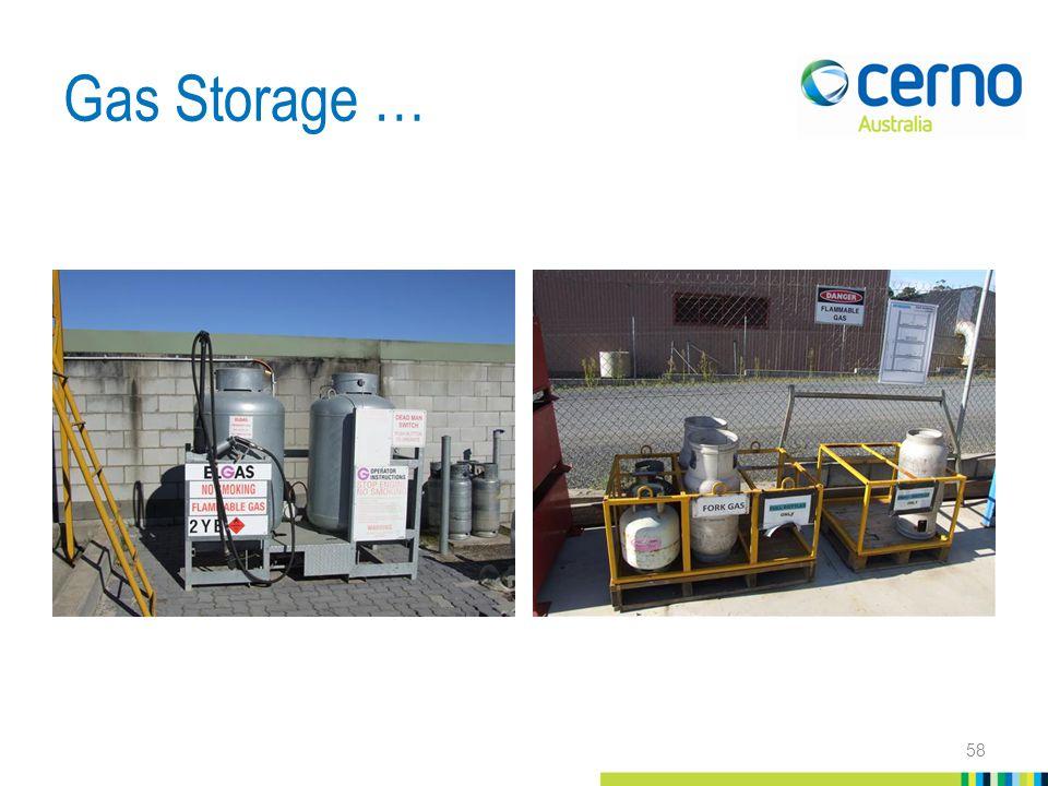 Gas Storage … 58